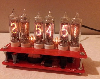 Nixie clock 6xIN-16 without case
