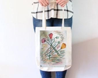 Millie Floral Market Bag