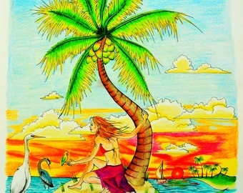 Island Jane in her element