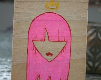 Rock Girl, Bubble Gum Pink Queen