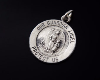 Guardian Angel Protection Charm Necklace