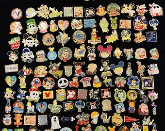 25 Disney Theme Park Pins- Assorted Variety