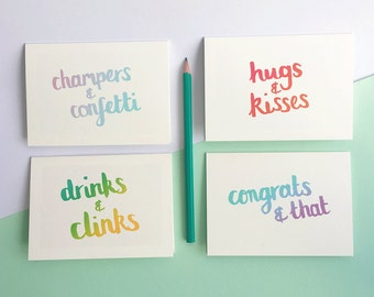 Celebration cards