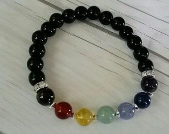 Meditation Bracelet, Chakra Bracelet, Energy Bracelet, Healing Bracelet, Yoga Jewelry