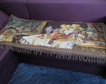 """Vintage gobelin tapestry """"Pheasant"""""""