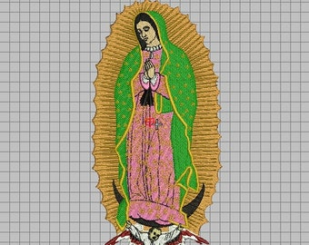 Embroidery, parent Virgin of Guadalupe