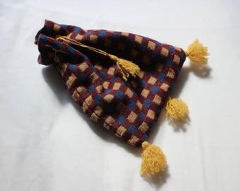 Anglo Saxon/Medieval Drawstring Pocket Bag