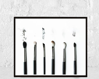 makeup art, makeup print, makeup decor, fashion print, makeup art print, makeup printable, bathroom decor, beauty print,fashion illustration
