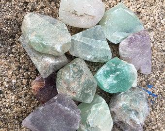 Rough Flourite Stone