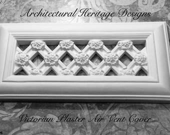 Decorative Victorian Plaster Air Vent Cover