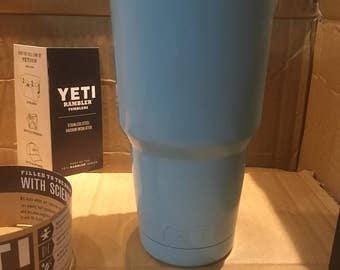 Handcrafted 30 oz yeti powdercoated