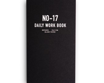 No. 17 WORKBOOK black