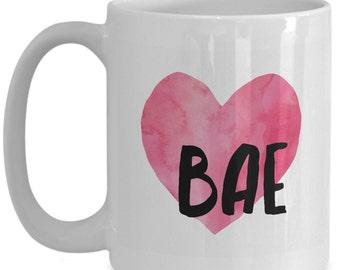 Bae coffee my bae mug