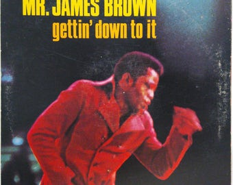 James Brown Gettin Down To It Funk Soul Lp King
