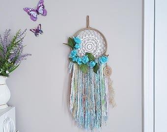 Boho Crochet Dreamcatcher Size Large
