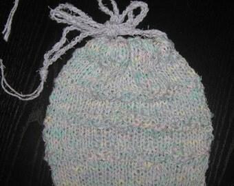 Lavender Treasure - Variegated Drawstring Bag - Small
