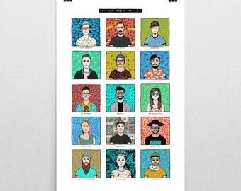 24x36 Cool PDX DJ Project Print