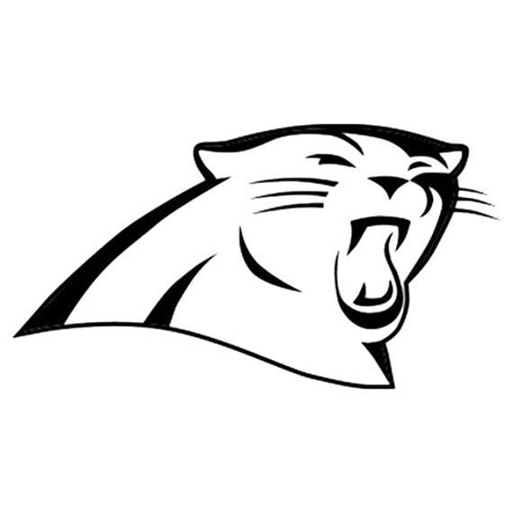 Vinyl Decal Sticker - Carolina Panthers Decal for Windows, Cars, Laptops, Macbook, Yeti, Coolers, Mugs etc