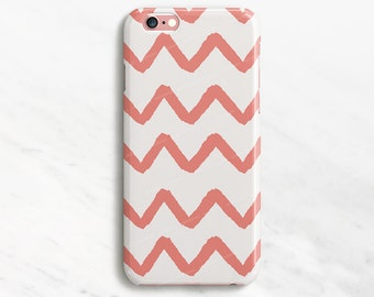 Chevron iPhone 7 Plus Case Red and White iPhone 6 Case Pattern iPhone 7 Case Zig Zag iPhone 6 Plus Case Samsung Galaxy S7 S6 S5 S4