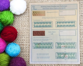 Advanced Loom Knit Stitch Reference Guide