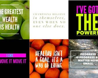 10 Healthy Life Instagram Posts - Facebook Posts, Health Posts, LulaRoe Posts, Social Media Posts, Motivation Posts, Brand Building