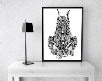 Art Style dog