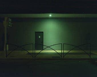 "night # 8-20 x 30 cm. Series ""at rest"""