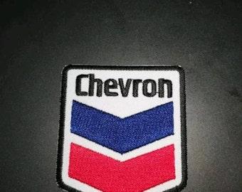 Chevron motoring - Iron on Sew on Patch