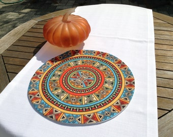 ethnic chic placemat