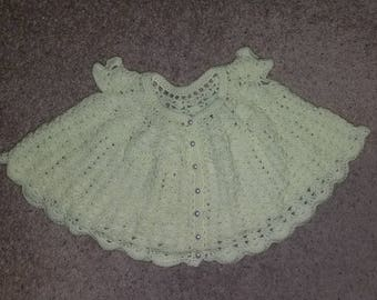 Crochet Baby Dress and Booties
