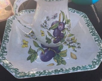 Vintage Himark Pitcher and Bowl