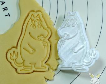 Snork Maiden Cookie Cutter and Stamp