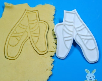 Ballet Shoes Cookie Cutter and Stamp Set