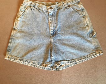 Vintage lee jean shorts high waisted size 12 mom jean shorts