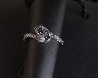 Two-Stone Diamond Ring