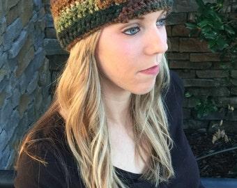 Multicolor Crocheted Headband/Ear Warmer