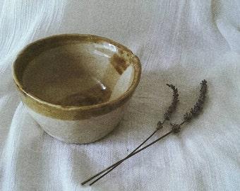 small stoneware dish