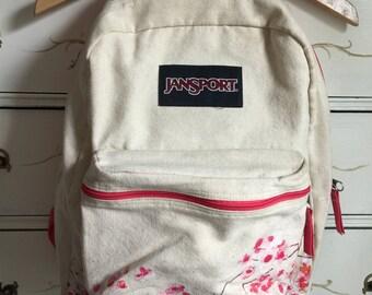 Old School JanSport Canvas Backpack