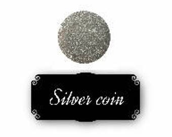Pressed mineral eyeshadow - Silver coin