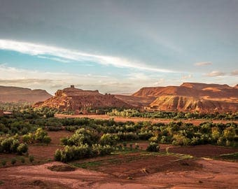 Ait Ben Haddou, Morocco - Digital fine art photography print