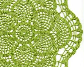 Crochet Doily Vintage Wedding Doilies Handmade round Home Decor Table Decoration Boho Decor Gift For Her Bridal Accessories Antique Lace