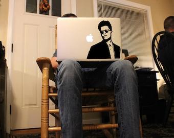 Bruno Mars - Vinyl Decal for MacBook, iPad, or Laptop