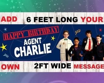 Odd Squad Birthday Party Banner Bunting Pennant - PERSONALIZED with Child's Name
