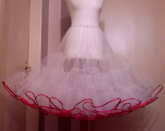 Tulle petticoat, petticoat, color choice