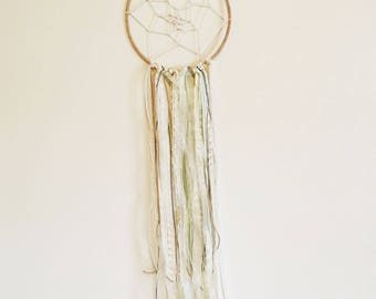 Large Teal&Gold  Dream Catcher