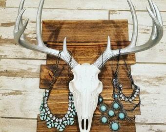 Deer Skull Jewelry Holder
