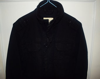 black old navy jacket