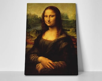 Mona Lisa Poster or Canvas by Leonardo da Vinci | Mona Lisa Poster or Canvas