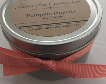 Pumpkin Pancake Scented Soy Candle