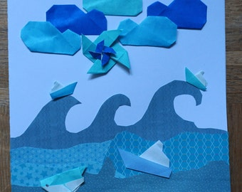 Blue sea thema for Thanking You!